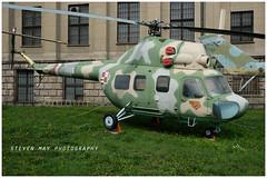 1449 Mil Mi-2 preserved in Warsaw (SPRedSteve) Tags: 1449 mil mi2 helicopter warsaw poland polish museum relic