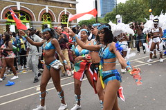 DSC_8166 (photographer695) Tags: notting hill caribbean carnival london exotic colourful costume girls dancing showgirl performers aug 27 2018 stunning ladies
