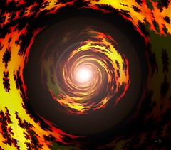 Là où tu iras - Where you will go (Emmanuelle Baudry - Em'Art) Tags: fractal feu fire fineart fiction vision vortex lumière light art artwork abstract artnumérique abstrait artsurreal artdigital artfantasy astronomy astronomie digitalart dream dark nuit night noir black rêve red rouge jaune yellow sky composition couleur colour ciel cosmos cosmic cosmique star sf sciencefiction scifi spirituality spiritualité spacetime spiral spirale espacetemps espace emmanuellebaudry emart
