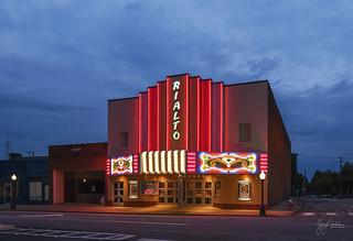 Rialto Theater at Twilight