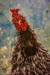 rooster_art-1_MaxHDR_Dehaze_Crop (old_hippy1948) Tags: art folkart rooster painting