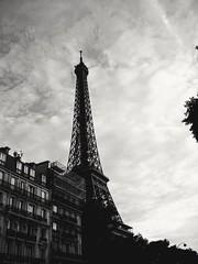 Eiffel in b&w (Amaranta*) Tags: torreeiffel eiffel biancoenero parigi