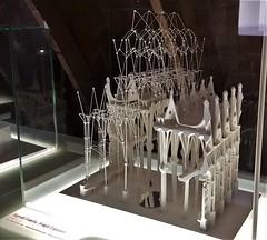 Upside-down model of Sagrada Familia created by Gaudi (xd_travel) Tags: spain barcelona nov2015 casamila gaudi lapedrera architecture modernism model upsidedown modelingb4computers mirrorimage sagradafamilia