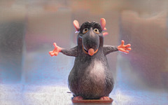 Welcome to my world! HSS (Dotsy McCurly) Tags: django ratatouille movie rat cute fun adobe photoshop textures screen hss happysliderssunday canoneos5dmarkiii ef24105mmf4lisusm