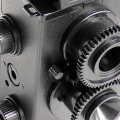 cogs and wheels (pho-Tony) Tags: 365square photosofcameras toycameras classiccameradiytlr recesky
