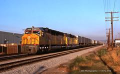 Back to Back Big Jacks (GRNDMND) Tags: trains railroads unionpacific up lasl locomotives emd dda40x cityofindustry california