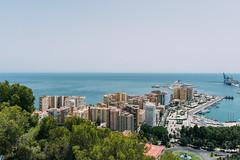 Málaga | Spain (Caroline Groneberg) Tags: spanien malaga andalusien gibralfaro aussicht aussichtspunkt stadt meer meerblick