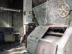 heating plant (soho42) Tags: mamiya645protl kodakportapro160 abandoned industry heatingplant decay urbanexploration urbex forgotten