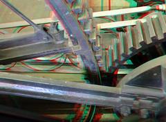 Rad Stoomgemaal Cruquius 3D (wim hoppenbrouwers) Tags: stoomgemaal cruquius 3d anaglyph stereo redcyan steam machine gemaal 1850