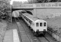 NIR 450 Class No.451 approaching Whiteabbey (AllyJay2006) Tags: nir 450class no451 whiteabbeystation northernirelandrailways