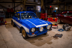 Universal - Fast Ford Escort (Jeff Krause Photography) Tags: 1970 blue bokeh escort fast ford furious orlando pano panorama park rs1600 ride stripes studios supercharged universal white theme florida unitedstates us