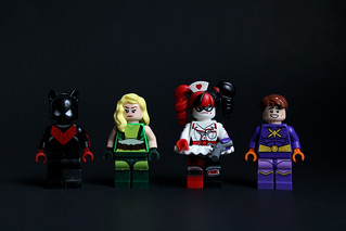 Popular Comic Book Company Lego Figurine Regurgitation