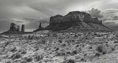 Monument Valley  - Utah (Barb McCourt) Tags: southeastutah desertlandscape bw bnw blackandwhitephotography nikon nikond810 desertphotography desertsouthwest monumentvalley utah
