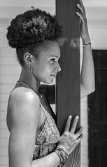 Naomi (Pierre de Champs) Tags: portrait blackandwhite d750 nikonphotography photographer antilles mixed girl caribbean guadeloupe gosier england kenya nikon iamnikon fwi