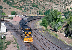 D&RGW #18 at Thistle, UT (thechief500) Tags: drgw railroads