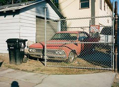 Los Angeles (-Hug-) Tags: film filmisnotdead shootfilm 120mm mediumformat fujiga645 analog 6x45 kodak portra400 portra cars losangeles la california usa