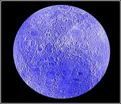 ' Blue Moon ' (** Janets Photos **) Tags: uk creations artwork macro closeups bluemoon
