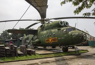 7609, Mil Mi-6 Vietnam People´s Air Force @ Hanoi Air Force Museum