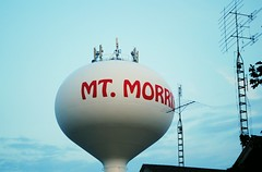 Mt. Morris, Illinois (Cragin Spring) Tags: mtmorris mtmorrisil mtmorrisillinois illinois il midwest unitedstates usa unitedstatesofamerica rural smalltown tower watertower