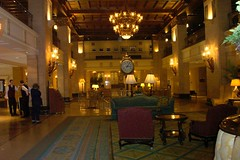 Fairmont Royal York Hotel - Toronto Ontario - Canada - Lobby Area (Onasill ~ Bill Badzo - 54M View - Thank You) Tags: fairmont royal york hotel lobby clock landmark heritage building beaux arts style architecture toronto on ontario canada downtown historic district union station onasill financial canadian pacific railway resorts 1929 british empire path bank plaza underground châteauesque light fixture ceiling 305 kodak