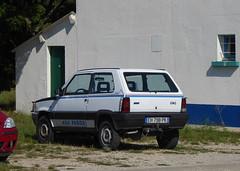 1989 Fiat Panda 4x4 Val D'Isere (Spottedlaurel) Tags: fiat panda 4x4 valdisere