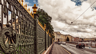 At the Sheremetev Palace, St. Petersburg (Russia) #4, 07-2018, (Vlad Meytin, vladsm.com)