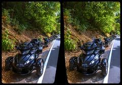 Trike 3-D / CrossView / Stereoscopy / HDR / Raw (Stereotron) Tags: sachsenanhalt saxonyanhalt ostfalen harz mountains gebirge ostfalia hardt hart hercynia harzgau bike trike motorrad europe germany deutschland cross eye view xview crosseye pair free sidebyside sbs kreuzblick bildpaar 3d photo image stereo spatial stereophoto stereophotography stereoscopic stereoscopy stereotron threedimensional stereoview stereophotomaker photography picture raumbild twin canon eos 550d remote control synchron kitlens 1855mm 100v10f tonemapping hdr hdri raw treseburg