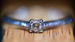 Diamonds (sdupimages) Tags: jewelry macro macromondays diamond rock pierre diamant bague ring bijoux jewel bois wood bokeh