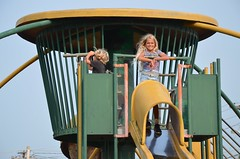 Kids Atop The Playground (Joe Shlabotnik) Tags: 2018 aroostook violet august2018 everett maine playground vanburen afsdxvrzoomnikkor18105mmf3556ged