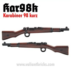 Karabiner 98 kurz (molegode_official) Tags: lego ww2 kar98 kar 98 kar98k karabiner kurz valiant bricks molegode