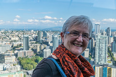 Majella at Space Needle