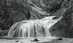 Stjornarfoss (OzzRod) Tags: waterfall cascade monochrome blackandwhite stjornarfoss iceland smcpentaxda55300mmf458 k1 pentax