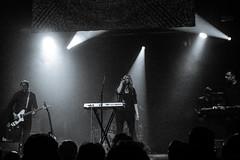 Jane Weaver @  Manchester Ritz 30.11.17 (eskayfoto) Tags: panasonic lumix lx3 gig music concert live band stage tour manchester lightroom manchesterritz ritz theritz janeweaver jane weaver p1640784editlr p1640784 monochrome mono bw blackandwhite
