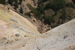 You probably don't want to drink the water of Sulphur Creek (rozoneill) Tags: lassen volcanic national park peak sulphur works california