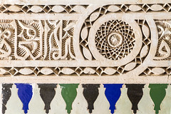 2018-4725 (storvandre) Tags: morocco marocco africa trip storvandre marrakech historic history casbah ksar bahia kasbah palace mosaic art