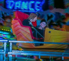Ride (trebandicoot (Lynn)) Tags: people ride sideshowalley sideshow exhibition ekka brisbane australia amusementpark monet rna royalnationalshow show artistic rides colour shockofthenew