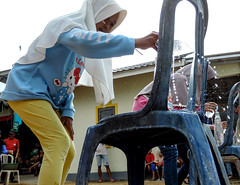 Water race (A. Yousuf Kurniawan) Tags: water children game race independenceday streetphotography kidworld fun colourstreetphotography kalimantan borneo banjarbaru decisivemoment lowangle humanity humaninterest