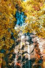 Bridal Veil Falls in Yellow (joe Lach) Tags: joelach bridalveilfalls pollackpines hwy50 southlaketahoe waterfall eldoradocounty