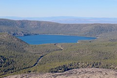 Overview of East Lake (daveynin) Tags: oregon newberry lake peak caldera