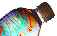 elixir of life (HansHolt) Tags: elixir potion eternal healthy life youth rainbow psychedelic disco multicolor veelkleurig regenboog bottle fles cap dop softdrink soda frisdrank reflection reflectie dof bokeh pet polyethyleneterephthalate plastic canon 6d 100mm canoneos6d canonef100mmf28macrousm hss