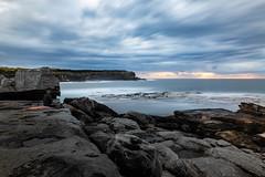 One Minute Meditation || Lillte Bay (David Marriott - Sydney) Tags: little bay sydney nsw sunrise dawn long exposure cloud sea ocean waves meditation yoga yogi