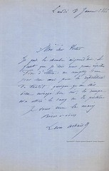 ACHARD, Léon, Opéra de Paris, 08/01/1866 (Operabilia) Tags: operabilia claudepascalperna dominiquepréaux léonachard tenor opera lirica autographe autograph goldenage