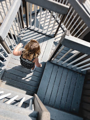 Navigating the stairs #jcutrer (joncutrer) Tags: iphoneography jcutrer dof toddler child lines stars playground park steps play maze