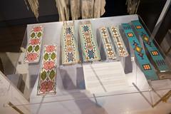 Ojibway beaded armbands (quinet) Tags: 2017 aborigène canada firstnations indian kunst ontario rom royalontariomuseum toronto ureinwohner aboriginal art museum musée native 124