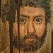 Encaustic portrait of a bearded Roman Man Egypt 160-170 CE