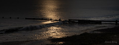 Sun Arise, Bring In The Morning (James 1949) Tags: dawn shoreline northsea beach sand neengland redcar beachseascape