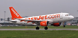 Airbus A319-111  G-EZEB — EasyJet Airlines