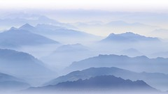 Misty beauty (_Nick Outdoor Photography_) Tags: img0449 silhouettes velvetmorning watercolor mistybeauty canoneos6d fromabove prealpiorobiche