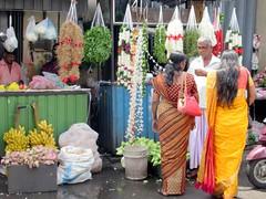 Flower Market (D-Stanley) Tags: hindu flower newkathiresankovil colombo srilanka