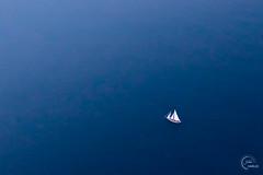 Allez viens, je t'emmène au vent 🎶 (Julien CHARLES photography) Tags: blue boat helicopter minimalism minimalist yacht